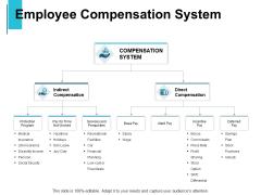 Employee Compensation System Compensation Ppt PowerPoint Presentation Slides Show