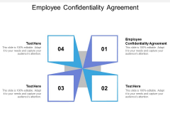 Employee Confidentiality Agreement Ppt PowerPoint Presentation Styles Sample Cpb