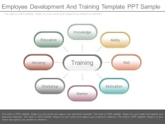 Employee Development And Training Template Ppt Sample
