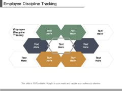 Employee Discipline Tracking Ppt PowerPoint Presentation Icon Influencers