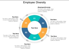 Employee Diversity Ppt PowerPoint Presentation Ideas Inspiration Cpb