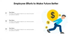 Employee Efforts To Make Future Better Ppt Icon Example Topics PDF