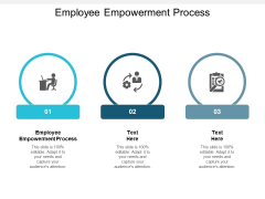 Employee Empowerment Process Ppt PowerPoint Presentation Professional Structure Cpb