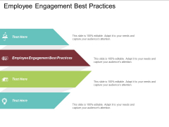 Employee Engagement Best Practices Ppt PowerPoint Presentation Slides Icon Cpb