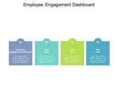 Employee Engagement Dashboard Ppt PowerPoint Presentation Styles Picture Cpb