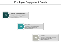Employee Engagement Events Ppt PowerPoint Presentation Summary Graphics Download Cpb