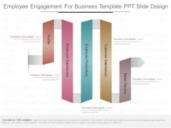 Employee Engagement For Business Template Ppt Slide Design