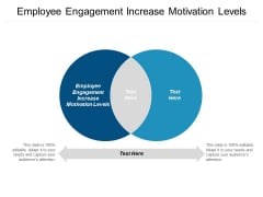 Employee Engagement Increase Motivation Levels Ppt PowerPoint Presentation Ideas Topics