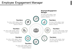 Employee Engagement Manager Ppt PowerPoint Presentation Icon Pictures