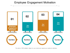 Employee Engagement Motivation Ppt PowerPoint Presentation Slides Examples