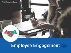 Employee Engagement Ppt PowerPoint Presentation Model Icon