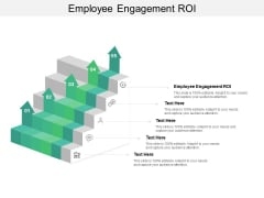 Employee Engagement ROI Ppt PowerPoint Presentation Gallery Infographics Cpb