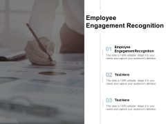 Employee Engagement Recognition Ppt PowerPoint Presentation Layouts Icons Cpb