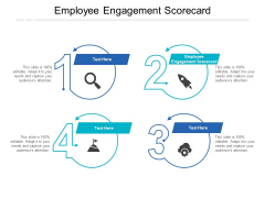 Employee Engagement Scorecard Ppt PowerPoint Presentation Outline Template Cpb
