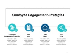 Employee Engagement Strategies Ppt PowerPoint Presentation Model Slide Cpb