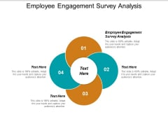 Employee Engagement Survey Analysis Ppt PowerPoint Presentation Slides Outline Cpb