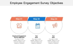 Employee Engagement Survey Objectives Ppt PowerPoint Presentation Slides Show Cpb