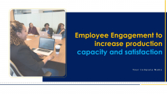 Employee Engagement To Increase Production Capacity And Satisfaction Ppt PowerPoint Presentation Complete Deck With Slides