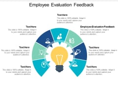 Employee Evaluation Feedback Ppt PowerPoint Presentation Pictures Skills Cpb
