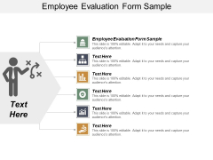 Employee Evaluation Form Sample Ppt Powerpoint Presentation Gallery Example Introduction Cpb