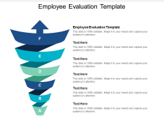 Employee Evaluation Template Ppt PowerPoint Presentation Slides Introduction Cpb