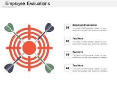 Employee Evaluations Ppt PowerPoint Presentation Layouts Icons Cpb