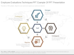 Employee Evaluations Techniques Ppt Example Of Ppt Presentation