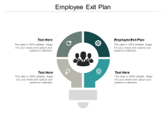 Employee Exit Plan Ppt PowerPoint Presentation Visual Aids Inspiration Cpb