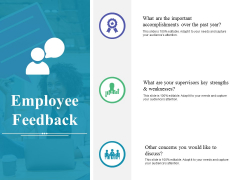 Employee Feedback Ppt PowerPoint Presentation Layouts Portfolio