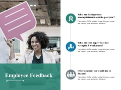 Employee Feedback Ppt PowerPoint Presentation Model Show