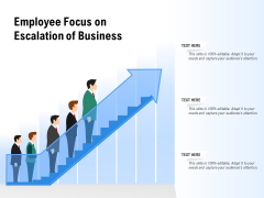 Employee Focus On Escalation Of Business Ppt PowerPoint Presentation Gallery Ideas PDF