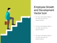 Employee Growth And Development Vector Icon Ppt PowerPoint Presentation Diagram Lists PDF