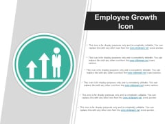 Employee Growth Icon Ppt PowerPoint Presentation Infographic Template Layouts
