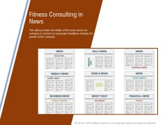 Employee Health And Fitness Program Fitness Consulting In News Information PDF