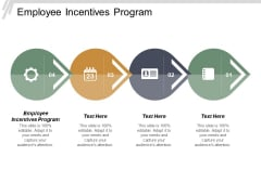 Employee Incentives Program Ppt Powerpoint Presentation Infographic Template Information Cpb