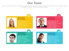 Employee Introduction Tags With Pictures Powerpoint Slides