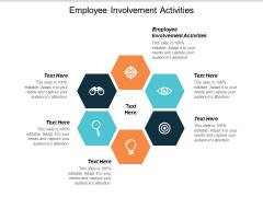 Employee Involvement Activities Ppt Powerpoint Presentation Professional Graphics Cpb
