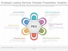 Employee Leasing Services Template Presentation Graphics