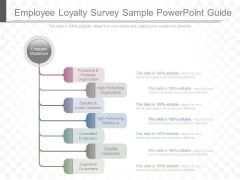 Employee Loyalty Survey Sample Powerpoint Guide