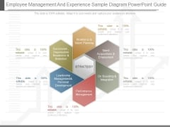 Employee Management And Experience Sample Diagram Powerpoint Guide