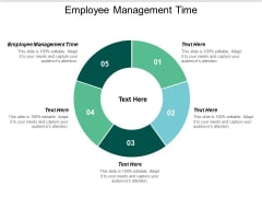 Employee Management Time Ppt PowerPoint Presentation Portfolio Cpb