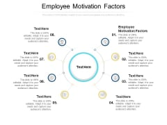 Employee Motivation Factors Ppt PowerPoint Presentation Summary Rules Cpb