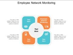 Employee Network Monitoring Ppt Powerpoint Presentation Portfolio Skills Cpb