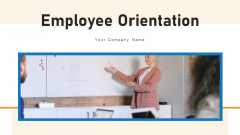 Employee Orientation Training Social Ppt PowerPoint Presentation Complete Deck With Slides