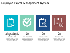 Employee Payroll Management System Ppt PowerPoint Presentation Slides Graphics Pictures Cpb
