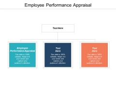 Employee Performance Appraisal Ppt PowerPoint Presentation File Outline Cpb
