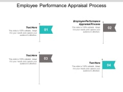 Employee Performance Appraisal Process Ppt PowerPoint Presentation Layouts Graphics Download Cpb