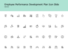 Employee Performance Development Plan Icon Slide Innovation Ppt PowerPoint Presentation Icon Example Topics