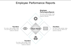 Employee Performance Reports Ppt PowerPoint Presentation Slide Cpb