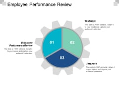 Employee Performance Review Ppt PowerPoint Presentation Model Layouts